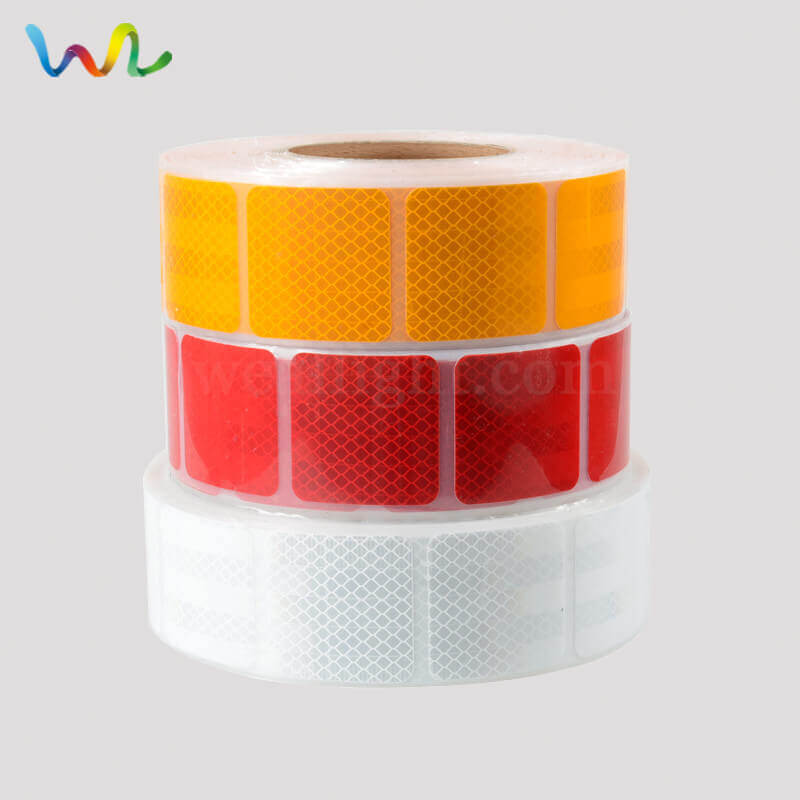 Die Cut Reflective Tape