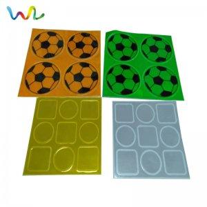 Custom Reflective Vinyl Stickers