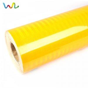 Lime Yellow Reflective Vinyl Roll