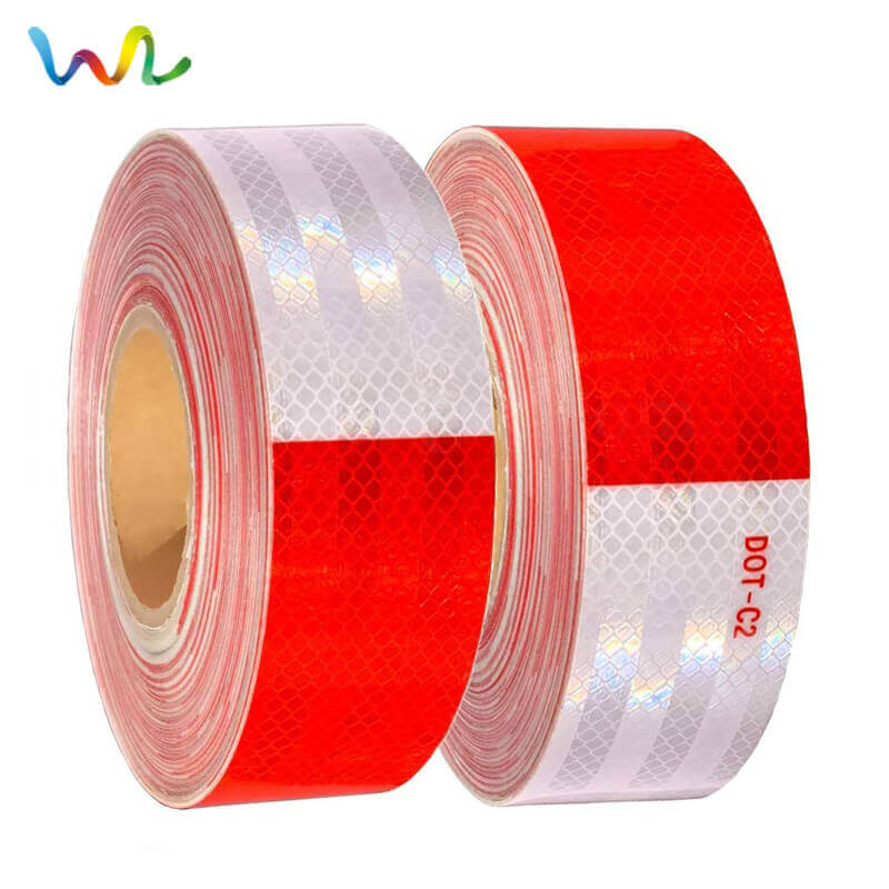 Red And White Reflective Tape For Trucks