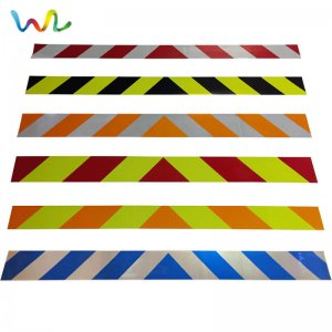 Reflective Chevron Stripes
