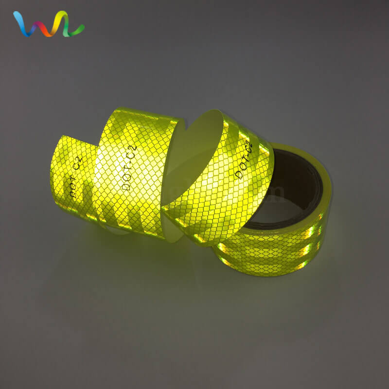 Fluorescent Yellow Green Reflective Tape Wholesale Manufacturer